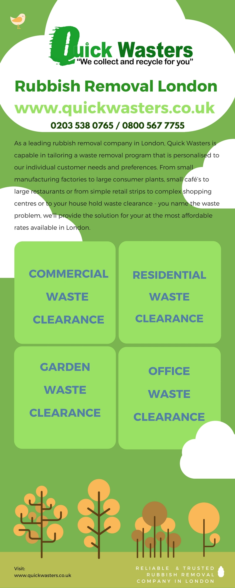 Quickwasters – Rubbish Removal Company London