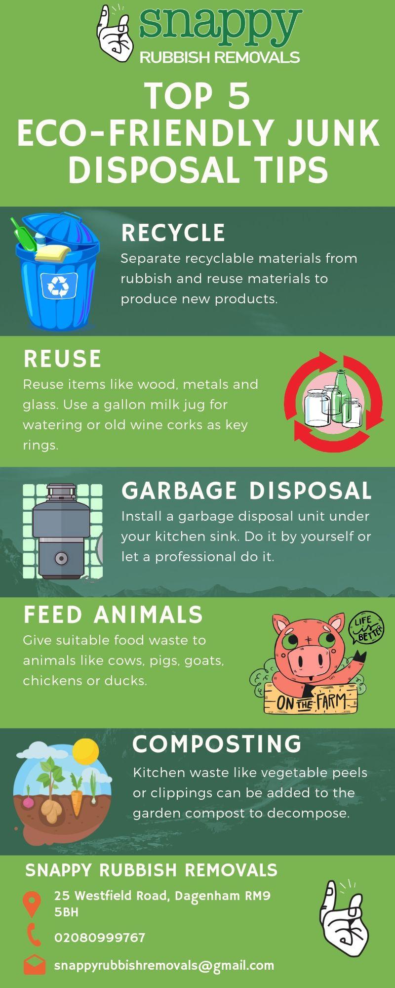 Eco-Friendly Junk Disposal Tips